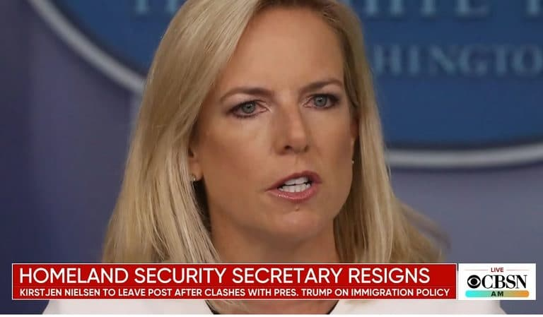 "Kirstjen Nielsen Is Now Reportedly Having Trouble Finding A Job, She's ""Completely And Totally Unhireable"""
