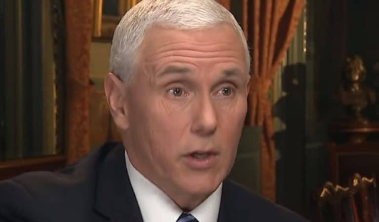 Mike Pence And His Wife Freaking Out After Democratic Presidential Hopeful Exposes Their Religious Hypocrisy
