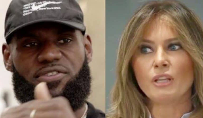 LeBron James Throws The Biggest Shade At Melania, Trump Will Have A Fit