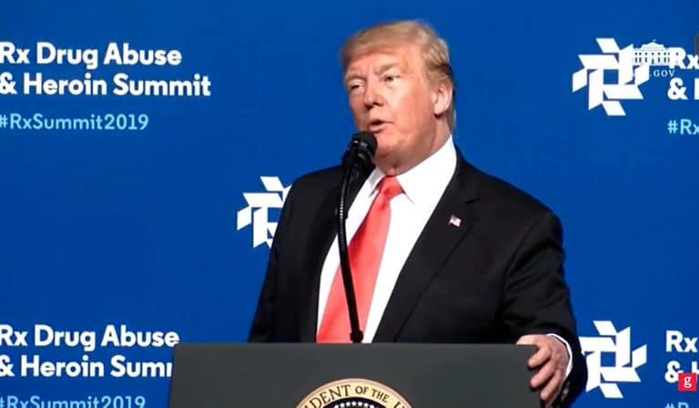 Trump Goes Off Script In Bizarre Rant During Opioid Summit, Americans Fear He's On Drugs
