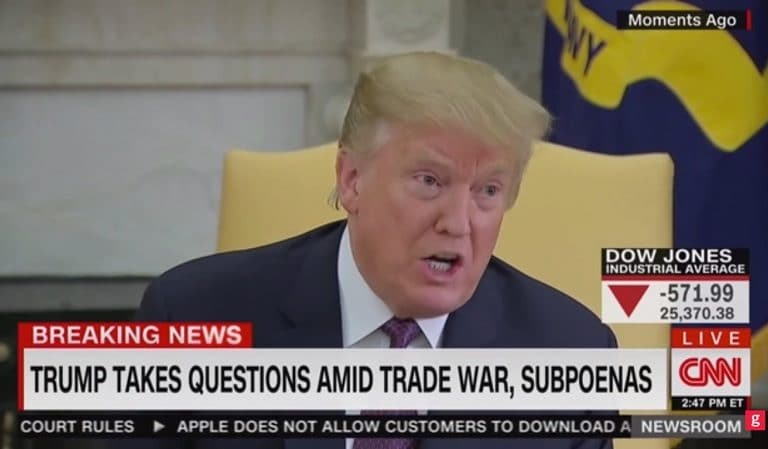 A White House Pool Reporter Finally Challenged Trump To His Face About All The Lies; They All Need To Do This