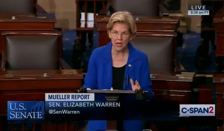 Watch As Senator Humiliates Mitch McConnell By Reading From Mueller Report On Senate Floor