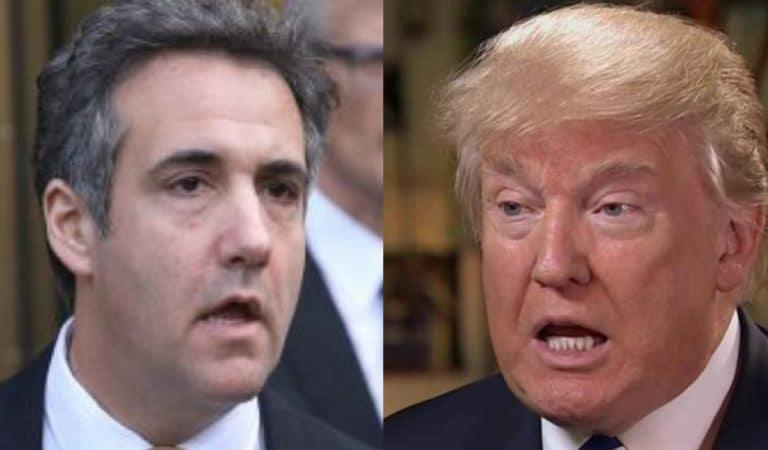 Michael Cohen Makes Ominous Pre-Jail Statement, It Should Terrify Trump