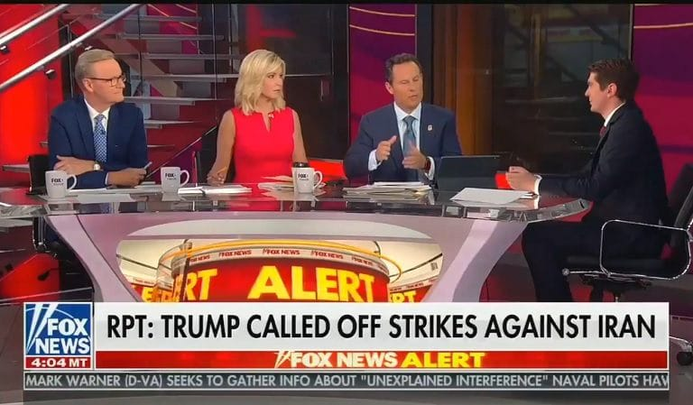 "Fox News Tries To Pressure Trump Into War With Iran, Calls Him ""Weak;"" POTUS Dumb Enough To Fall For It"