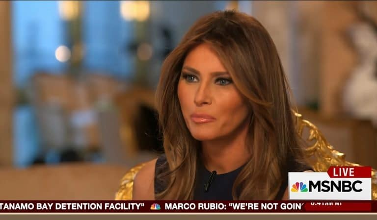 Melania Made A Complete Fool Of Herself After Telling Americans The Reason She Fell In Love With Trump