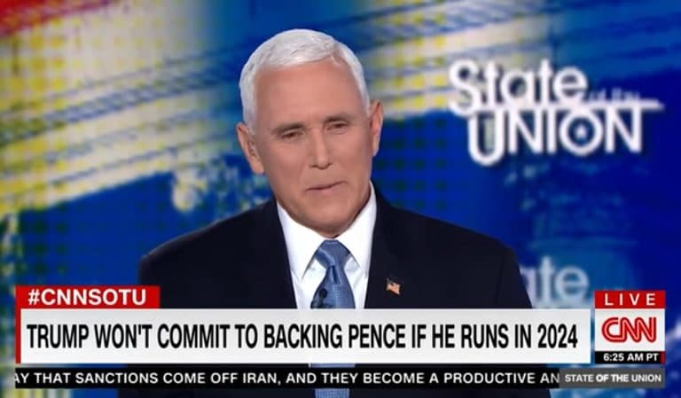 CNN Host Humiliates Mike Pence By Playing Video Of Trump Refusing To Endorse Him For President in 2024