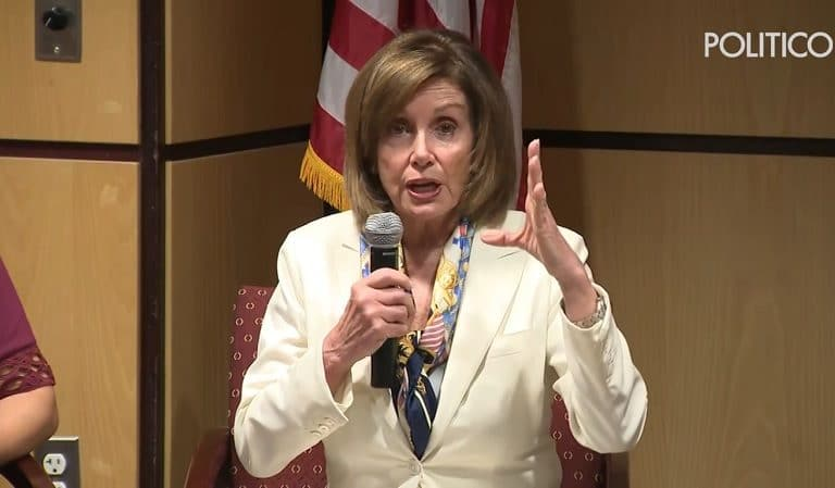 Nancy Pelosi Revealed She Had To Dumb Down Crisis At Border During Meeting With Trump So He Could Understand
