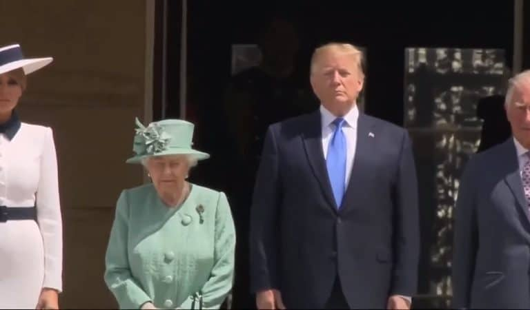 Queen Elizabeth Throws Major Shade At Trump With Rare Gift