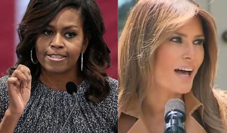 """WSJ Criticized Michelle Obama For Not """"Defending"""" Melania: She """"Learned To Speak Six Languages"""""""