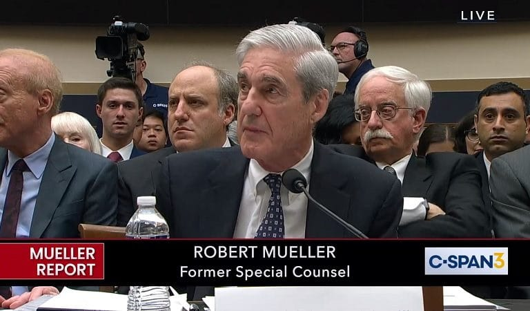 Mueller Just Said During Live Testimony That Trump Can Be Indicted For Obstruction After He Leaves Office