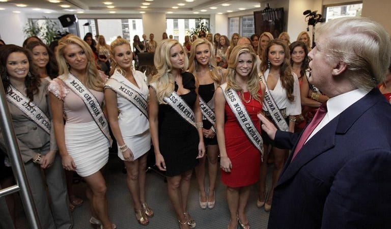 Former Beauty Queen Accused Trump Of Forcing Contestants To Greet Him Even While Undressed