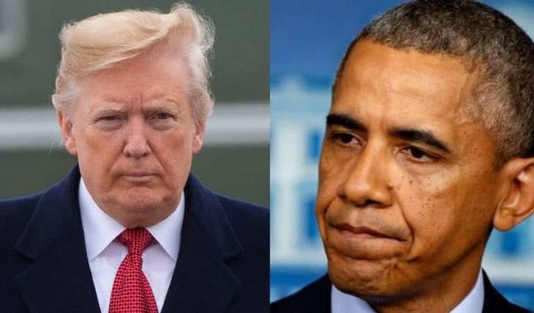 "Trump Openly Called For Investigation Into Barack Obama During Press Conference ""Let's Subpoena All Of His Records"""