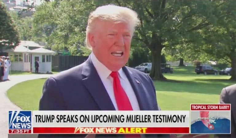 Trump Just Went On Bizarre Rant Outside White House, Raves About His Ability To Make Dictator Smile