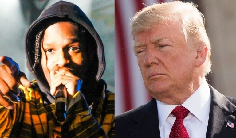"""White House Angry A$AP Rocky Didn't Thank Trump After He Was Released From Swedish Jail, Blames It On """"Herd Mentality"""" Of Black People"""