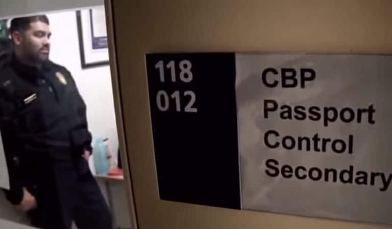 """Journalist Says He Went Through Immigration At Airport, Was Stopped By CBP Agent And Accused Of Being Part Of """"Fake News Media"""""""