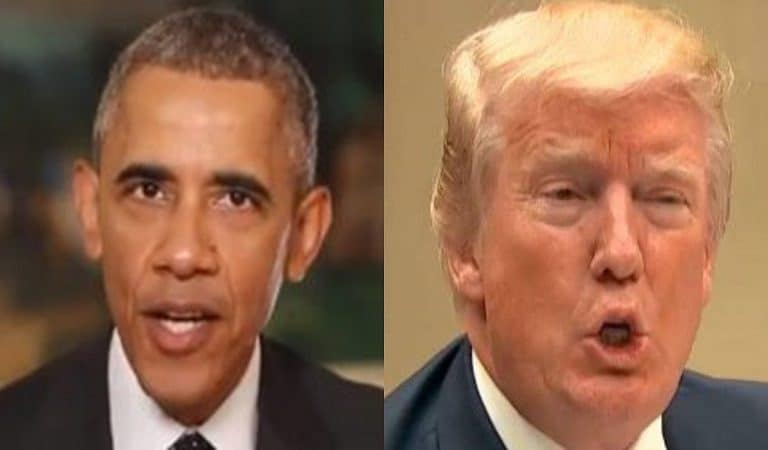 Trump Responded To Obama's Statement On Mass Shootings
