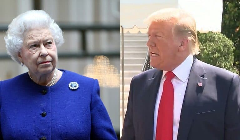 "Queen Elizabeth Was Reportedly Not Happy After Trump's Helicopter Damaged The Lawn At Buckingham Palace: ""It's Ruined"""