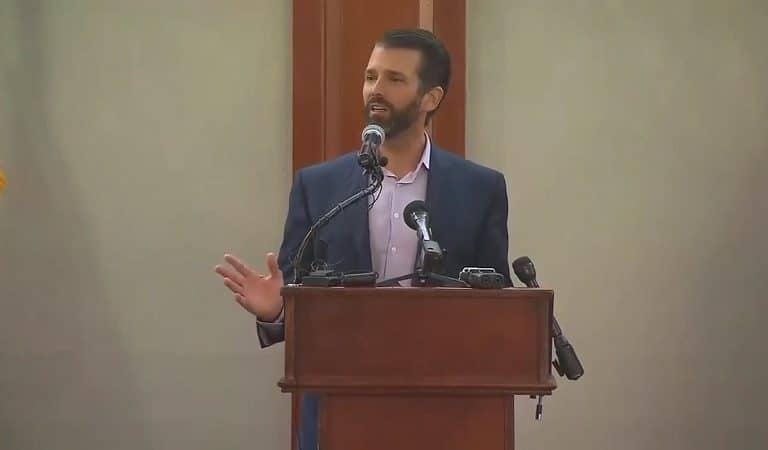 "Trump Jr. Just Referred To Congresswomen As ""The Hamas Wing Of Congress"" During Latest Speech"