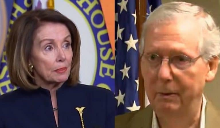 "Nancy Pelosi Just Referred To Mitch McConnell As ""Moscow Mitch"""