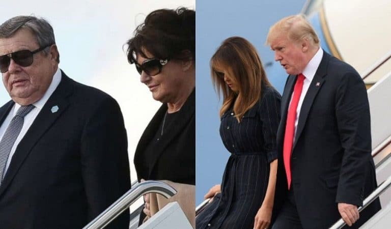 Republicans Don't Seem To Have Issue With Melania's Parents Using Air Force One Despite Challenging Obama For Same Thing