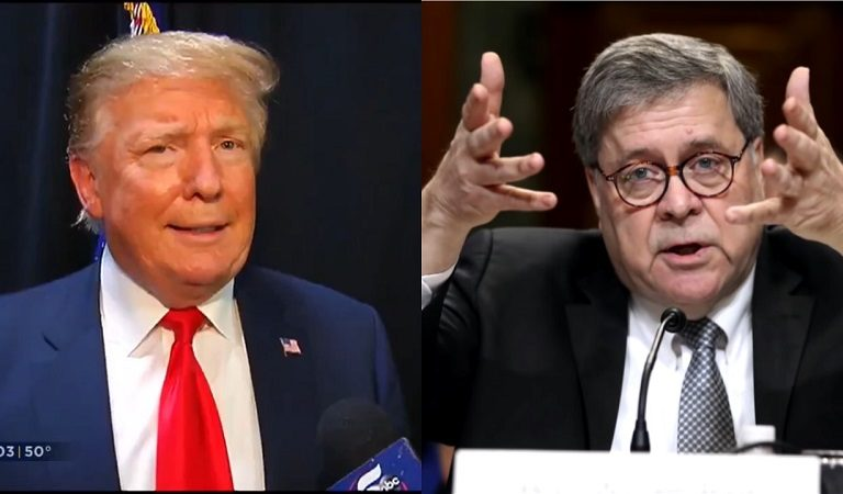 """AG Bill Barr Was """"Surprised And Angry"""" When He Found Out Trump Lumped Him In With Guiliani During Ukraine Call"""