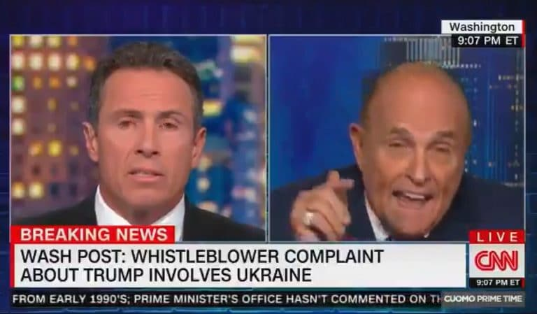 Giuliani Appears To Have A Meltdown On National TV, Admits He Asked Ukraine To Investigate Joe Biden Two Seconds After He Denies It