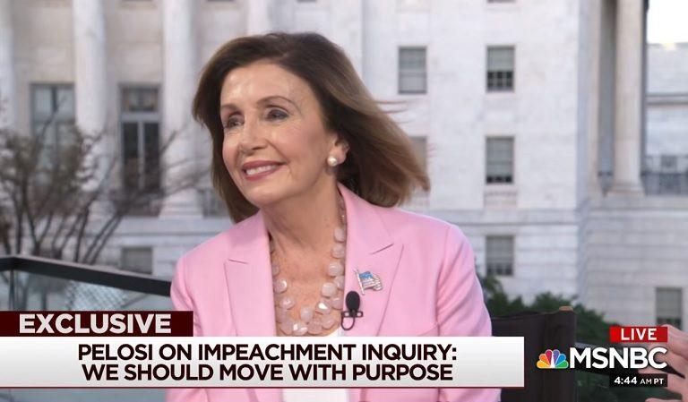 Nancy Pelosi Responds To Kellyanne Conway's Criticism Of Her Regarding Trump's Impeachment Inquiry