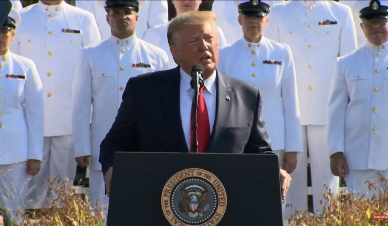 """Trump Angers Social Media Users After He Turns Pentagon 9/11 Speech Into """"Infomercial"""" About Himself"""