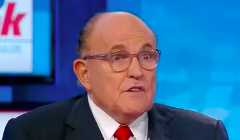 New Report Suggests Giuliani Was In Cahoots With Fox News On Secret Project To Dig Up Dirt On Biden