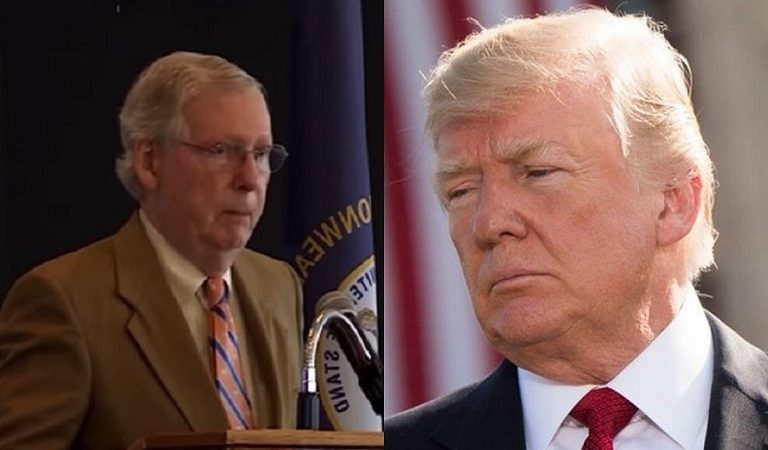 McConnell Appears To Defy Trump, Vows To Save Kentucky Military School After Trump Pulls Funding For Wall