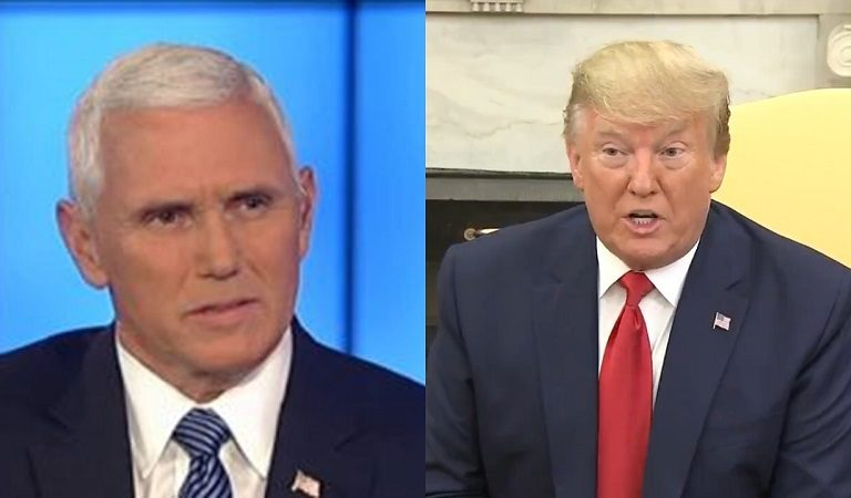 NBC Report Claims Pence And Trump Got Into It Over Holding Taliban Meeting At Camp David