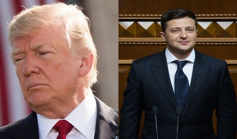 Trump Met With Ukraine President Last Night And There's A Photo To Prove It