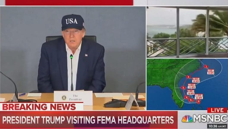 Trump Just Said During Press Conference That He's Never Heard Of A Category 5 Hurricane