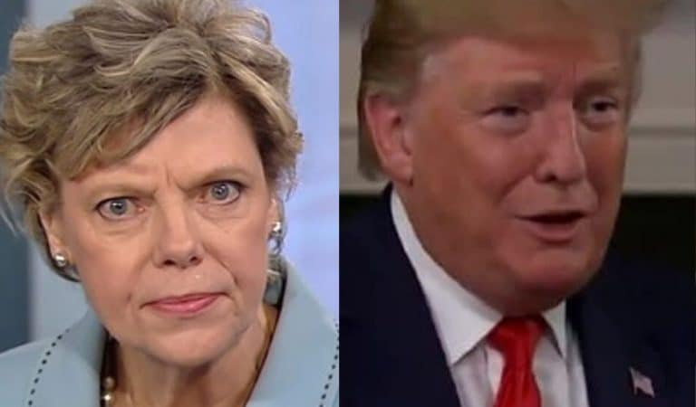 Video Emerges Of Cokie Roberts Calling Trump Out On His Racism On Live Television