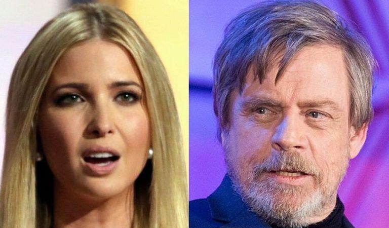 Ivanka Posts Tweet Referencing Star Wars, Luke Skywalker Responds