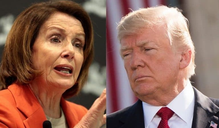 Trump Claims Nancy Pelosi Agreed With Him Over Whistleblower Complaint Not Being Anything Like the Notes From Ukraine Call