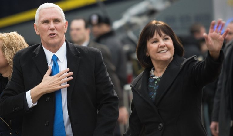 """Pence Insider Claims """"Mrs. Pence Is The Real Vice President,"""" Advises Her Husband Over The Phone"""