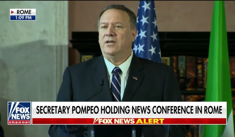 "Pompeo Finally Just Admitted He ""Was On The Phone Call"" With Trump And Ukrainian President"