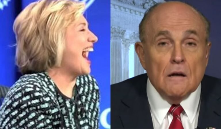 Hillary Clinton Just Responded To Giuliani After He Attacked Her On Twitter