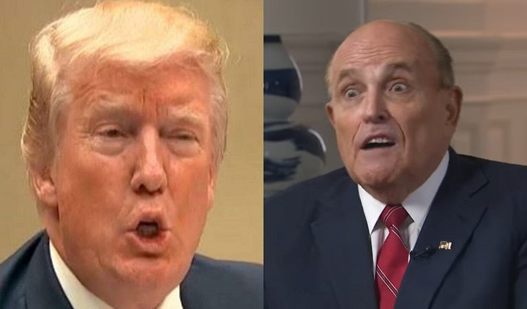 """WSJ Reports That Trump Bullies His Lawyer Giuliani Behind Closed Doors: """"Man, Rudy, You Sucked"""""""